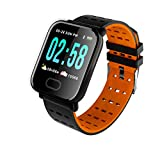 YDK Smart Watch A6 Hombre Mujer Bluetooth Monitor...