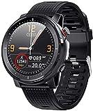 Reloj inteligente para hombre con luz LED ECG PPG...