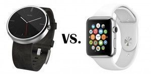 reloj android vs apple watch