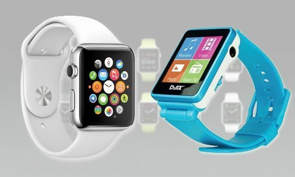 relojes chinos y Apple Watch