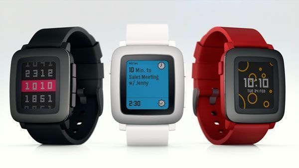 reloj inteligente pebble time