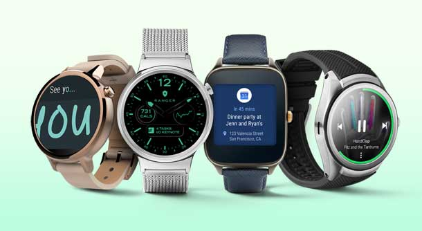 Android wear relojes inteligentes