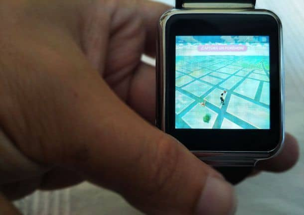 finow-q1 reloj pokemon-go