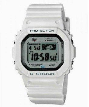 reloj casio g shock blanco gb 5600aa