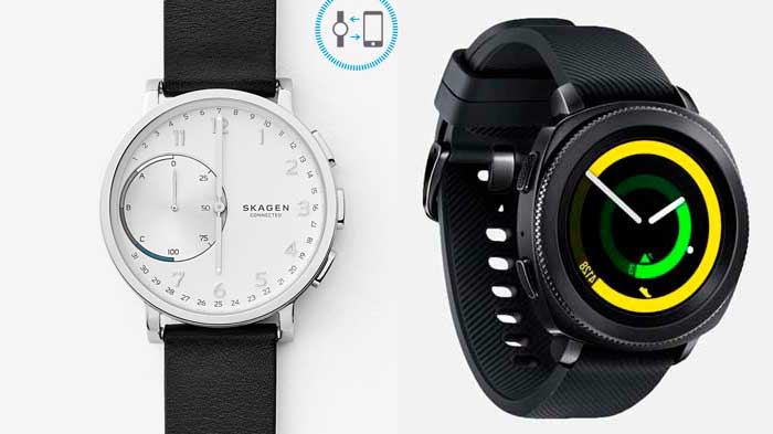 reloj hibrido o smartwatch