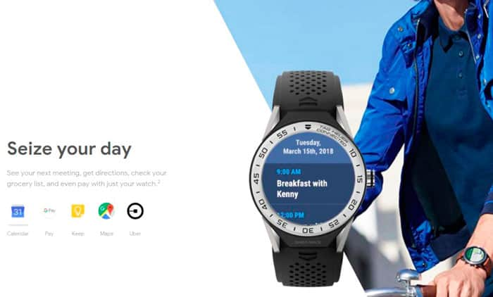 Wear OS google smartwatch