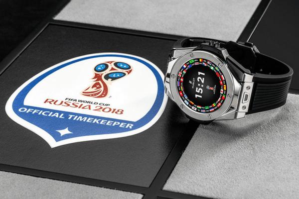 reloj inteligente del Mundial de Rusia 2018