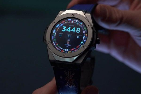 reloj del mundial de rusia