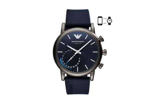 smartwatch emporio armani conected
