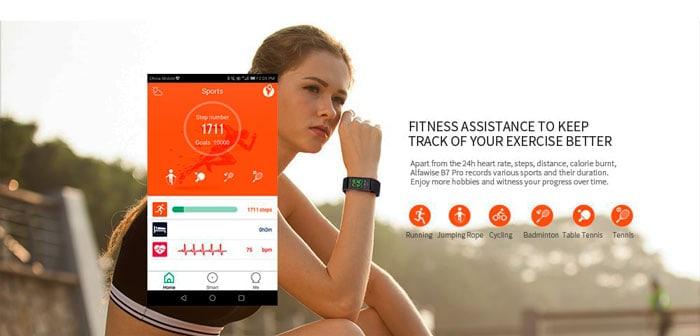 smartband alfawise