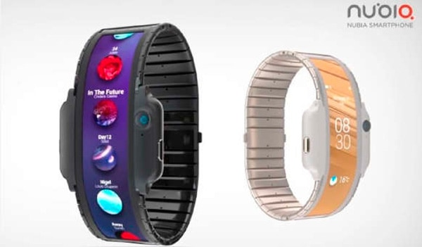 smartwach flexible de ZTE