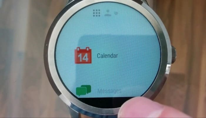 calendario para smartwatch android